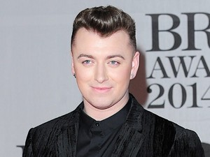 Sam Smith arriving for the 2014 Brit Awards at the O2 Arena, London.