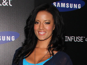 Heather Hemmens at the Samsung Infuse 4G For AT&T Launch Event, Los Angeles
