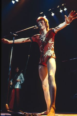 David Bowie in concert at the Hammersmith Odeon, London, Britain - June 1973 David Bowie 1973