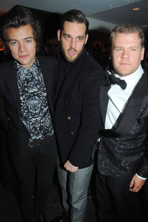The BRIT Awards 2014 Warner Music Group After Party, London, Britain - 19 Feb 2014 Harry Styles and James Corden