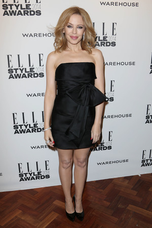 Elle Style Awards, London, Britain - 18 Feb 2014 Kylie Minogue