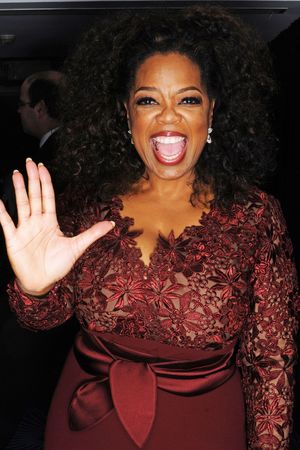 EE British Academy Film Awards, Selfie Booth, Royal Opera House, London, Britain - 16 Feb 2014 Oprah Winfrey