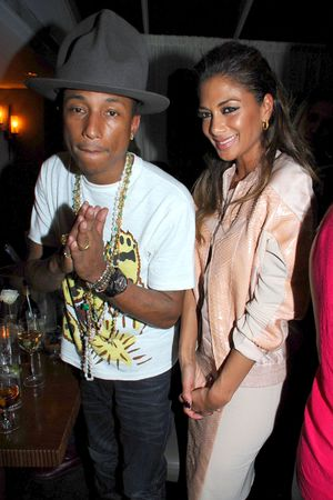 The BRIT Awards 2014 Warner Music Group After Party, London, Britain - 19 Feb 2014 Pharrell Williams and Nicole Scherzinger