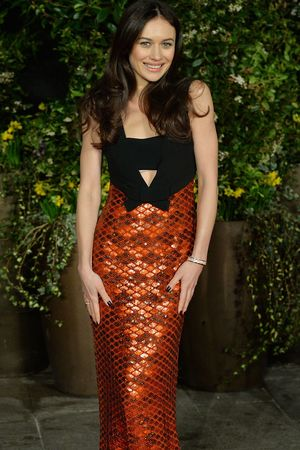 Olga Kurylenko at the EE British Academy Film Awards
