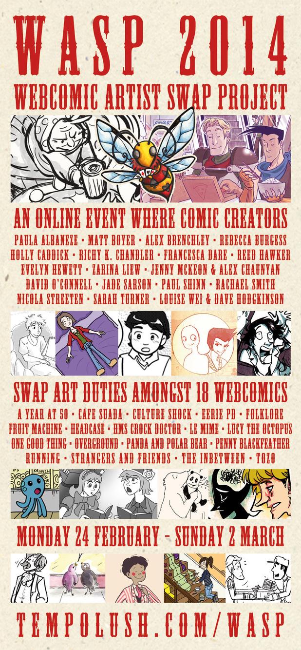 WASP 2014 poster