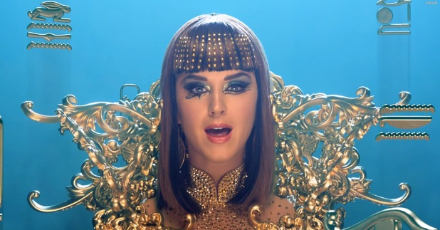 Katy Perry 'Dark Horse' music video.