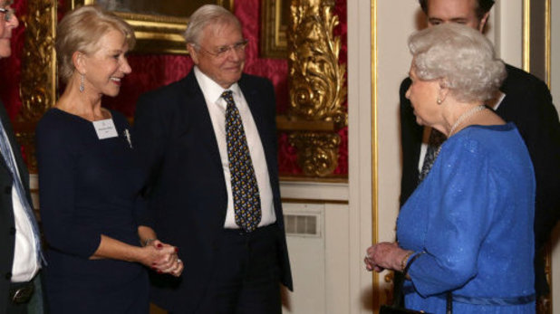 The Queen meets Helen Mirren