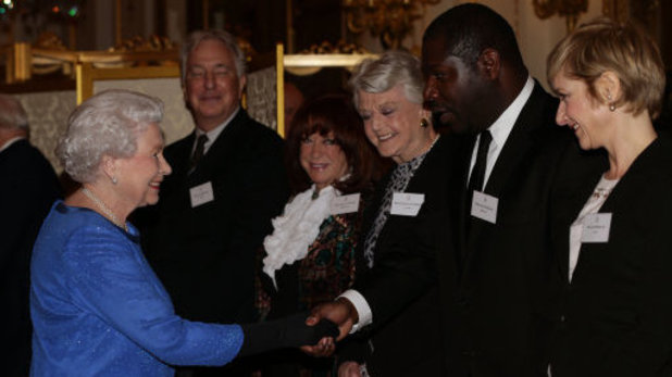The Queen meets 12 Years a Slave director Steve McQueen