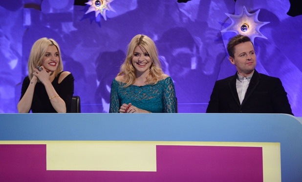 Ashley Roberts, Holly Willoughby & Declan Donnelly on the Celebrity Juice: Saturday Night Takeaway special