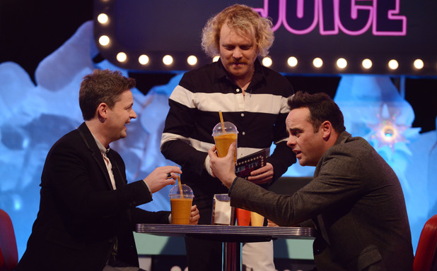 Ant & Dec on the Celebrity Juice: Saturday Night Takeaway special