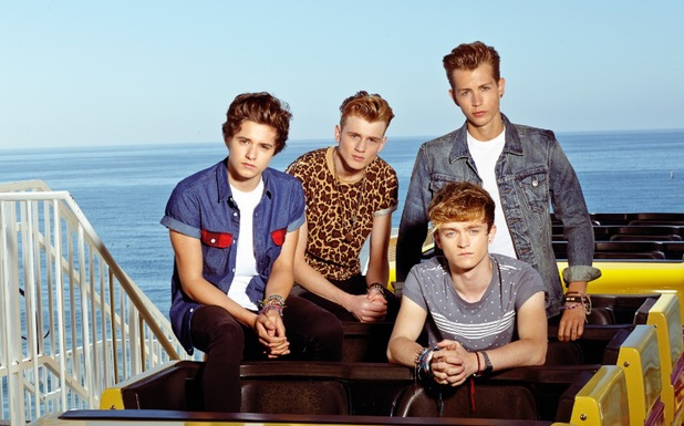 The Vamps press shot 2014.