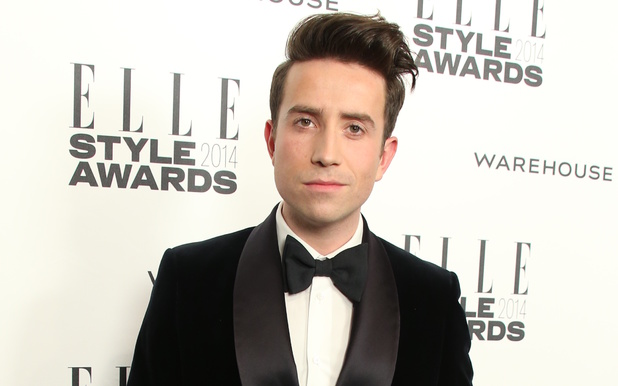 Nick Grimshaw at the ELLE Style Awards