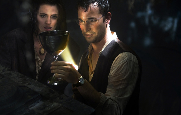 Noah Wyle in The Librarian: The Curse of the Judas Chalice'