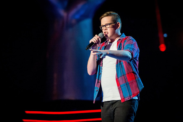 Tom Barnwell auditions for The Voice