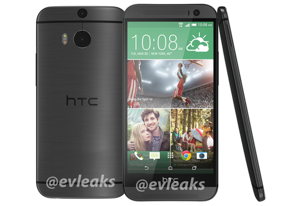 Leaked photo of the All New HTC One in black