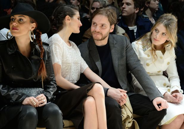 Burberry Prorsum Show, Autumn Winter 2014, London Fashion Week, Britain - 17 Feb 2014 Daniel Brühl 17 Feb 2014