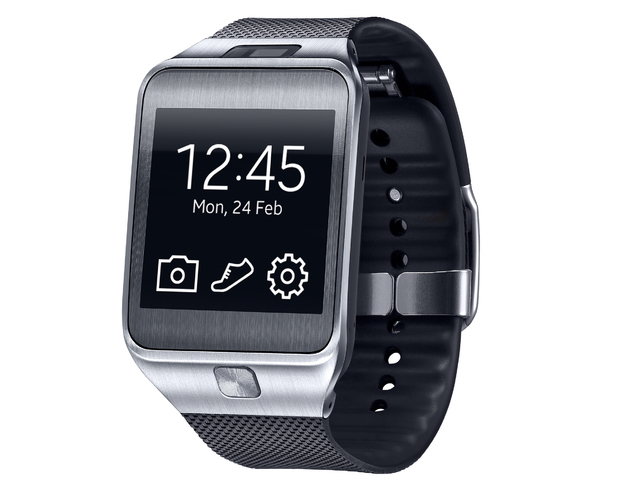 Samsung Galaxy Gear 2 in black