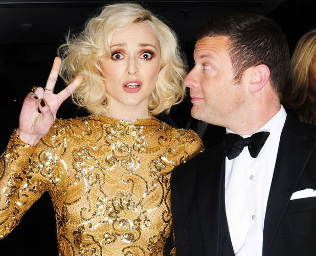 EE British Academy Film Awards, Selfie Booth, Royal Opera House, London, Britain - 16 Feb 2014 Fearne Cotton and Dermot O'Leary