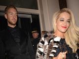 The BRIT Awards 2014 Warner Music Group After Party, London, Britain - 19 Feb 2014 Rita Ora and Calvin Harris