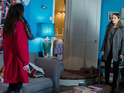 Lauren gets a big surprise in tonight's EastEnders episode.