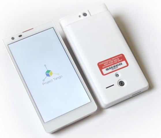 Google's Project Tango prototype smartphone
