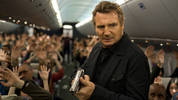 Liam Neeson stars as a US air marshall in 'Non-Stop'.