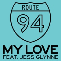 Route 94, Jess Glynne 'My Love' artwork