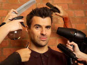Steve Jones hosts BBC Three's Hair