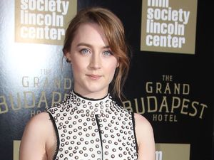 Saoirse Ronan at the Grand Budapest Hotel premiere in New York