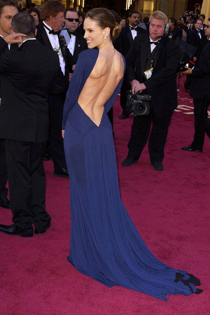 THE 77TH ACADEMY AWARDS, LOS ANGELES, AMERICA - 27 FEB 2005 Hilary Swank