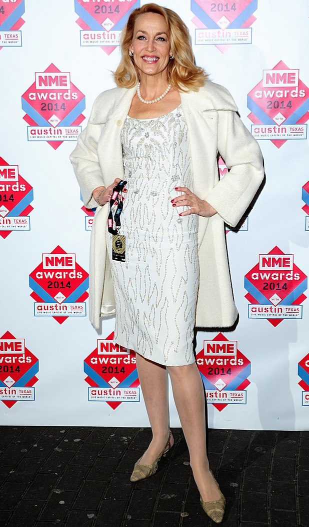 NME Awards: Jerry Hall