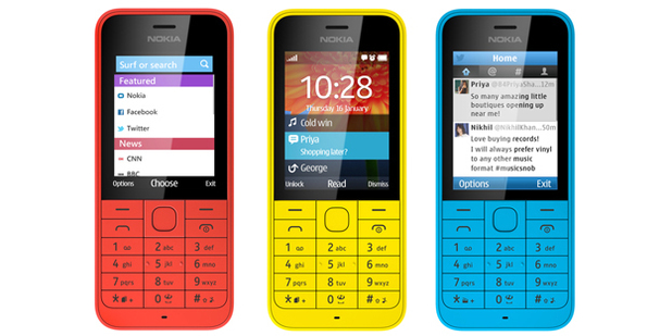 The Nokia 220 phone was announced at MWC 2014