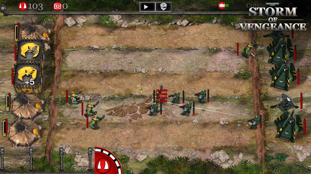 Warhammer 40,000: Storm of Vengeance is a lane strategy game for PC, iOS and Android