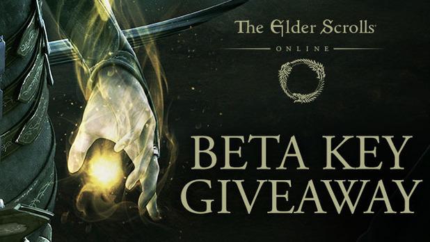 The Elder Scrolls Online beta key giveaway