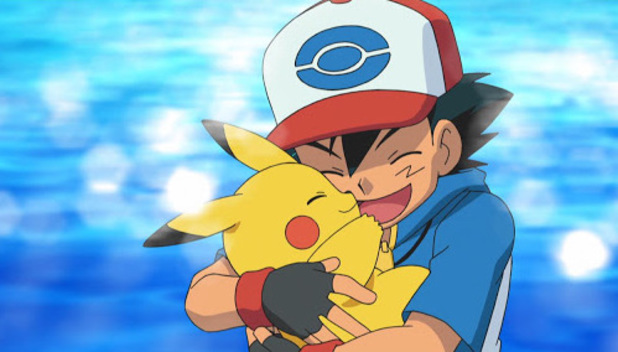 Photo of Ash and Pikachu from Black & White TV series