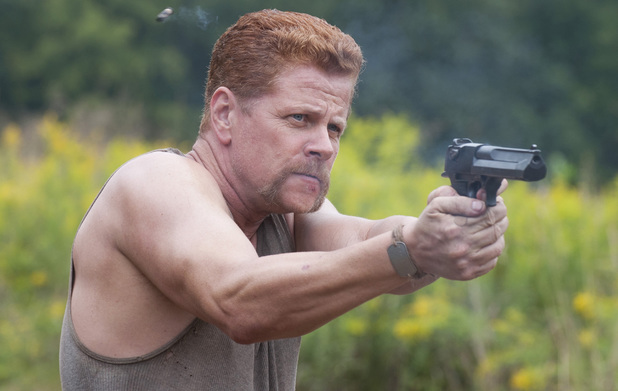 Michael Cudlitz as Abraham in The Walking Dead season 4 episode 11: 'Claimed'