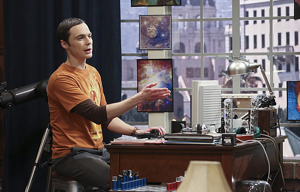 Jim Parsons as Sheldon in The Big Bang Theory: 'The Table Polarization'