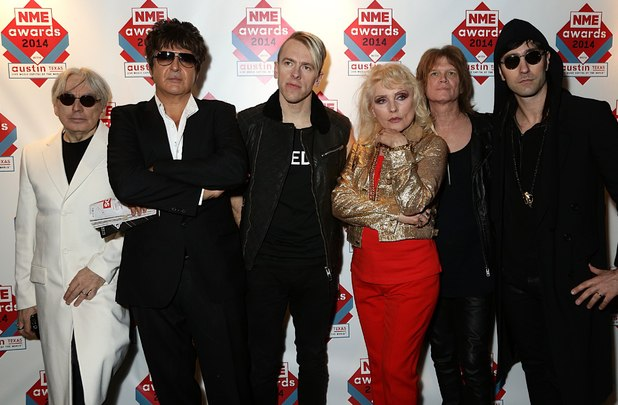 NME Awards: Blondie with Debbie Harry