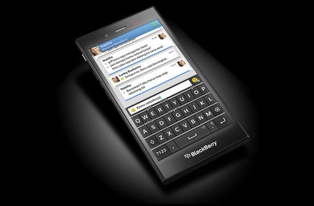 BlackBerry's new handsets