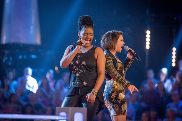Nomakhosi and Jai McConnell battle on The Voice