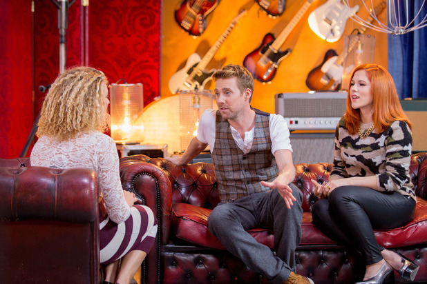 Ricky Wilson and Katy B mentor Emily Adams on The Voice