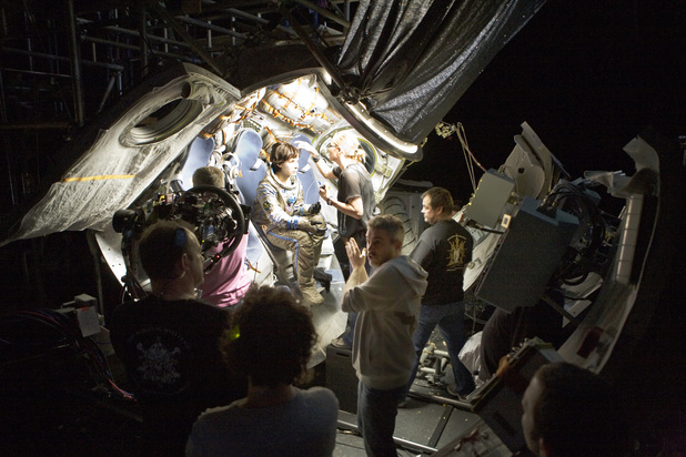 Behind the scenes Gravity