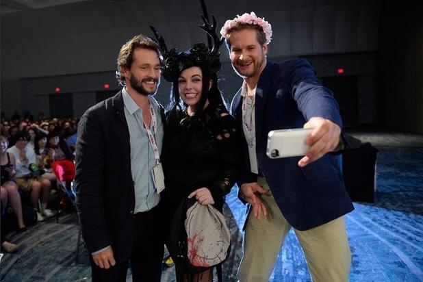'Hannibal' - Fannibal fun at Comic Con.