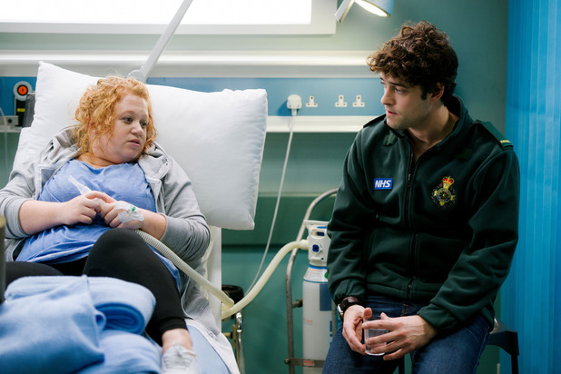 Lofty with Robyn in his first episode