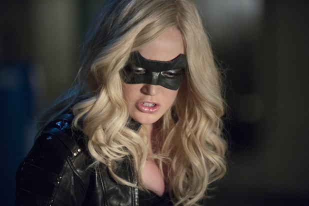 Caity Lotz as Canary in 'Arrow' S02E14: 'Time of Death'