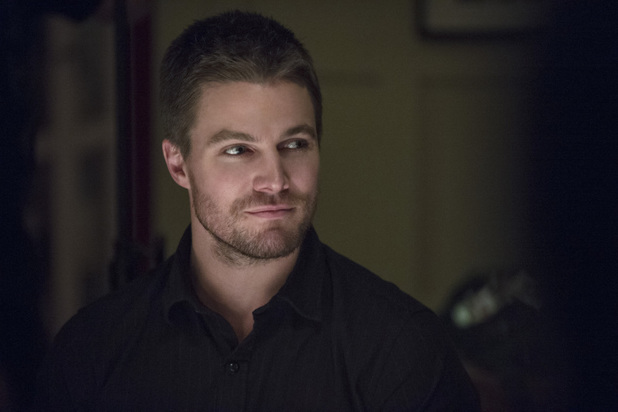 Stephen Amell as Oliver Queen in 'Arrow' S02E14: 'Time of Death'