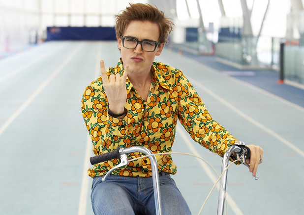 McBusted take part in Sainsbury's Sport Relief cycle challenge