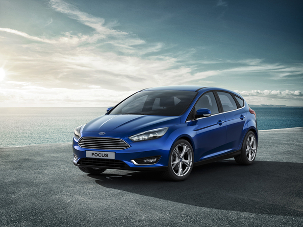 Ford's 2014 Focus with SYNC 2 on board