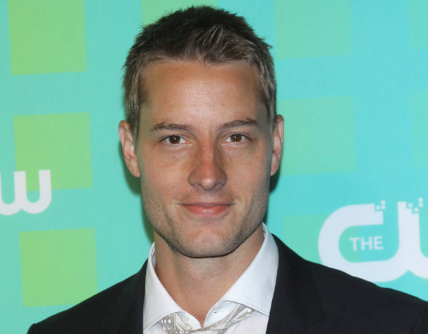 Justin Harltey at the CW Upfront Presentation, New York