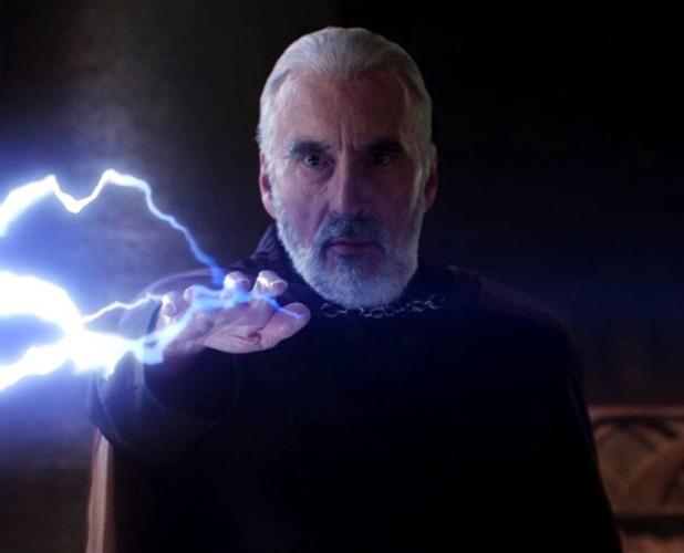 Star Wars villains Count Dooku